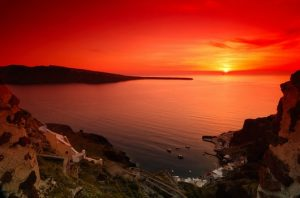 1st thing to do in Santorini is the sunset cruise!